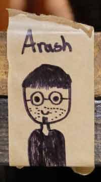 Dessin Arash
